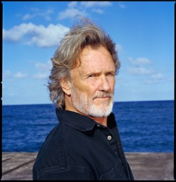 ICON :  The utterly badass Kris Kristofferson plays an intimate, solo acoustic concert of both classic hits and new music at the Cohan Center on Oct. 17. - PHOTO COURTESY OF KRIS KRISTOFFERSON
