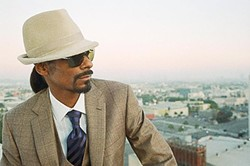 THE DOGGFATHER! :  Snoop Dog plays Pozo Saloon on June 20. Bring your dad! He'll love it. - PHOTO COURTESY OFSNOOP DOG