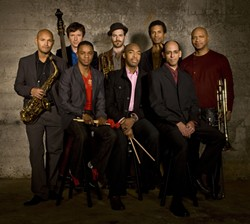 """ISN'T SHE LOVELY? :  Jazz fans won't want to miss The SF Jazz Collective doing """"The Music of Stevie Wonder"""" on March 22 at Cal Poly's Spanos Theatre. - PHOTO COURTESY OF THE SF JAZZ COLLECTIVE"""