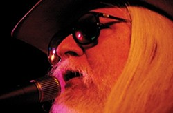 LIVING LEGEND:  Blues rock legend Leon Russell, he of the icon top hat and white hair and beard, plays July 13 at Downtown Brew. - PHOTO COURTESY OF LEON RUSSELL