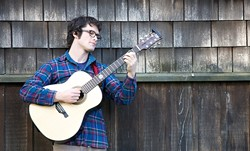 TROUBADOUR! :  Linnaea's Café presents Bay Area composer and multi-instrumentalist Alex Rather-Taylor on Jan. 9. - PHOTO COURTESY OF ALEX RATHER TAYLOR