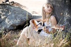 CHANTEUSE :  Central Coast's own Nataly Lola will headline Steve Key's Songwriters at Play showcase at the Steynberg Gallery on Oct. 12. - PHOTO COURTESY OF NATALY LOLA