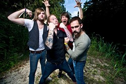 RADIO READY! :  Tallahassee-based, blazing white-hot rock act Go Radio plays April 30 at SLO Brew. - PHOTO COURTESY OF GO RADIO