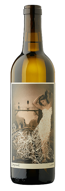 """MYSTERIOUS:  Desperada wines uses female figures as a nod to its winemaker Vailia Esh and her wine's """"muse-like qualities."""" - IMAGE COURTESY OF DESPERADA"""