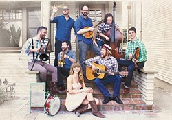 """GET DUSTY :  """"American Roots Orchestra"""" The Dustbowl Revival plays the Red Barn Community Music Series on Aug. 1. - PHOTO COURTESY OF DUSTBOWL REVIVAL"""