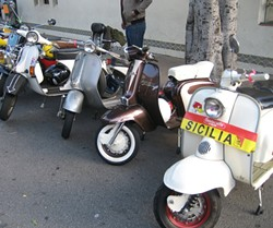 SCOOTERISTAS!:  Whether you're a Vesparado or Lambrettoutlaw, there'll be plenty of scooters on display at various events. - PHOTO BY GLEN STARKEY