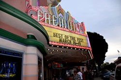 MARQUEE MARKS THE SPOT:  The 21st annual San Luis Obispo International Film Festival offered nearly 100 films, from short docs to feature narratives. Both the audience award and juried award for Best Feature Narrative went to the film 'Girl on the Edge.' - PHOTO BY JESSICA PEÑA