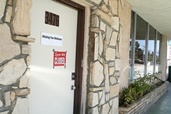 OPEN AND SHUT:  Wishing You Wellness, which briefly opened as a medical marijuana dispensary in Orcutt, closed down for good due to permit snags in April. - PHOTO BY JEREMY THOMAS