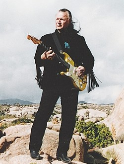FEEL DALE'S GALE :  Surf guitar hero Dick Dale plays Downtown Brew on June 18, delivering an evening of his patented, instrumental surf rock. - PHOTO COURTESY OF DICK DALE
