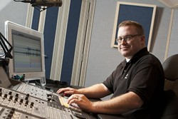 IF A TREE FALLS IN A RECORDING STUDIO …:   Luke Thoene brings his recording industry expertise to SLO County residents looking to be heard. - PHOTO BY STEVE E. MILLER