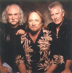 OLDIES BUT GOODIES:  Crosby, Stills and Nash headline the OPTIONS Family Services fundraiser on June 10 at Avila Beach Resort. - CROSBY, STILLS AND NASH