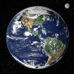 SPACESHIP EARTH! :  If you ruin Earth, where are you going to live? Yeah, think about it! - PHOTO COURTESY OF NASA