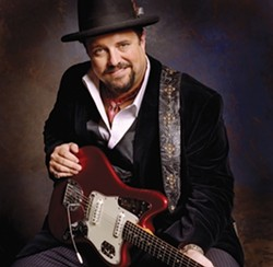 LUCKY ONE :  Former Mavericks frontman Raul Malo has a killer new album out, Lucky One, on which his vocal performances compare favorable to Elvis Presley. All hail the new king on March 13 at the Clark Center. - PHOTO COURTESY OF RAUL MALO