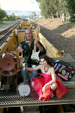 MILLER TIME! :  Mike Miller and Suzy Miller play shows at The Spot May 4 through May 6. - PHOTO BY SANDRA CORTEZ