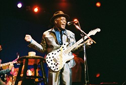 LEGEND ON LEGEND:  The Legendary Buddy Guy is one of 11 great guitarists offering tribute to iconic rock god Jimi Hendrix on Oct. 12, at Avila Beach Resort. - PHOTO BY STEVE C. PESANT; COURTESY OF AUTHENTIC HENDRIX, LLC
