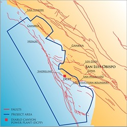 NOT HOOKED :  Officials at the Central Coast's two ports are weighing in on Pacific Gas & Electric's plan to close off 530 square miles of prime fishing waters in order to complete its seismic surveys—and they're not happy. - IMAGE COURTESY OF CALIFORNIA STATE LANDS COMMISSION