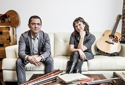 CELTIC SUMMER :  The Celtic duo of Hanz Araki & Kathryn Claire will perform on June 20 in Steynberg Gallery on the first night of their two-night summer solstice festival. - PHOTO COURTESY OF HANZ ARAKI & KATHRYN CLAIRE