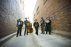 GIVING BACK :  The amazing Café Musique (with Inga Swearingen, not pictured) will collaborate on a fundraiser for the Steynberg Gallery in Cal Poly's Spanos Theatre on Nov. 20. Don't miss this one! - PHOTO COURTESY OF CAFÉ MUSIQUE
