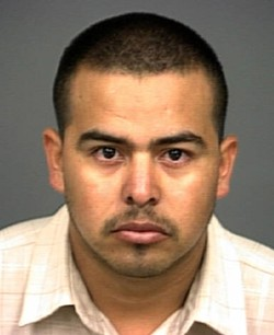 SHANDON VS. PASO :  Twenty-five-year-old Jose Alcaraz was charged with attempted murder with a gang-enhancement charge after a shooting that occurred outside a San Miguel bar, allegedly because of clashes between Paso Robles and Shandon gang members. He pleaded not guilty. - PHOTO COURTESY OF SLO COUNTY JAIL