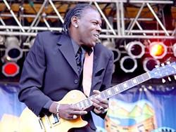 GUITAR HERO :  Bluesman Joe Louis Walker returns to the SLO Vets Hall on Sept. 19. - PHOTO COURTESY OF JOE LOUIS WALKER