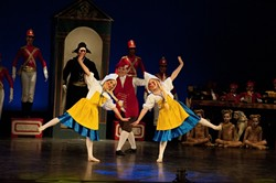TOYING AROUND :  Dancers take the stage for a unique adaptation of an American family classic. - PHOTO BY APRIL WISE PHOTOGRAPHY