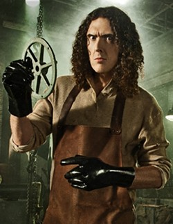 "THE WEIRD ONE :  Cal Poly's favorite son, ""Weird Al"" Yankovic, brings his spectacular parody show to the PAC on Nov. 2. - PHOTO COURTESY OF WEIRD AL YANKOVIC"