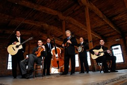 HEAR THE THUNDER :  Ricky Skaggs & Kentucky Thunder play March 14 in the Performing Arts Center's Cohan Center. - PHOTO COURTESY OF RICKY SKAGGS & KENTUCKY THUNDER