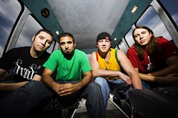 REBELS WITH A CAUSE :  Check out red-hot reggae act Rebelution on March 16 at the Madonna Expo Center. - PHOTO COURTESY OF REBELUTION