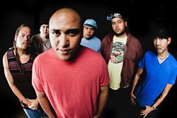 ISLAND REGGAE:  The Green plays SLO Brew on Nov. 11 to promote their chart-topping new album Hawai'i '13. - PHOTO COURTESY OF THE GREEN