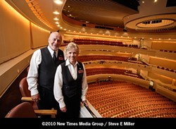 SHARYNN AND JERRY CHIRPICH : - PHOTO BY STEVE E. MILLER