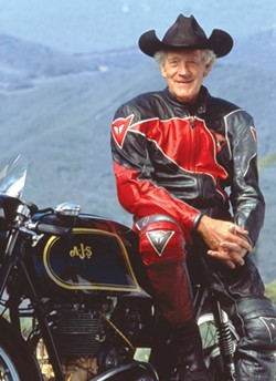 GRAND MARSHALL:  Virgil Elings, who owns the Solvang Vintage Motorcycle Museum, will act as Grand Marshall. - PHOTO COURTESY OF VIRGIL ELINGS