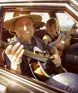 TWO FOR THE ROAD:  Guy Budd and Inga Swearingen join forces on Aug. 2 for a show at the Arroyo Grande Rotary Bandstand. - PHOTO COURTESY OF GUY BUDD AND INGA SWEARINGEN