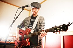 TRUE GRIT :  The awesome Kasey Anderson will bring his country rockers and woeful ballads to Steynberg Gallery on April 3. - PHOTO BY JOHN MELOY