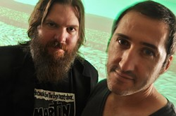 INDIE ROCK DARLINGS :  Pinback hits SLO Brew on Sept. 14, touring in support of their first new record in five years. - PHOTO BY CHRIS WOO
