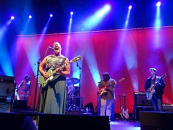 SHAKE IT:  The Alabama Shakes take the stage just after 8 p.m. and immediately launch into their unique brand of soul-drenched punk-blues. - PHOTO BY GLEN STARKEY