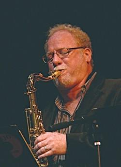 BLOW, BRUCE, BLOW :  On July 12, Los Angeles saxophonist Bruce Eskovitz plays the Famous Jazz Artist Series at the Hamlet. - PHOTO COURTESY OF BRUCE ESKOVITZ