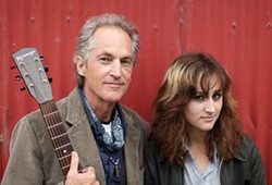 """LISTEN UP! :  Father-daughter duo Ranchers for Peace brings """"neo-hippy protest music"""" to Painted Sky on June 29. - PHOTO COURTESY OF RANCHERS FOR PEACE"""