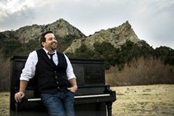 PIANO MAN:  Doug Groshart will release his new EP Hold the River Back on Aug. 9 at SLO Brew. - PHOTO BY ROBIN CHILTON OF PEREGRINE MEDIA GROUP