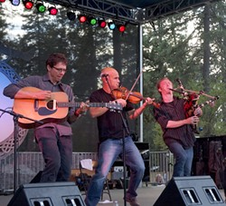 IRISH IN THE RED BARN :  Molly's Revenge plays the Red Barn Community Music Series on Oct. 3. - PHOTO COURTESY OF MOLLY'S REVENGE
