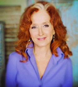 ICON :  Ten-time Grammy Award winner Bonnie Raitt plays the 22nd annual Avila Beach Blues Festival on May 24 at Avila Golf Resort. - PHOTO COURTESY OF BONNIE RAITT