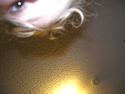 THE EYES HAVE IT! :  Four-year-old Vera captured this self-portrait called Vera's Eye. - IMAGES COURTESY OF SALON 544