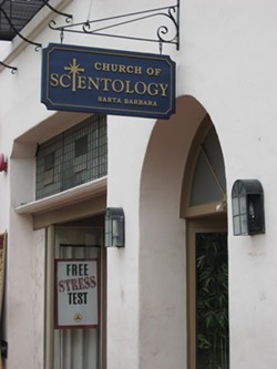 SUNDAY SERVICE :  Santa Barbara's Church of Scientology is the facility the closest to Hubbard's ranch in Creston. - PHOTO BY COLIN RIGLEY