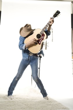 ICON & OUTSIDER :  Despite his outsider status, Dwight Yoakum, who headlines the Pozo Stampede on April 30, has become a music icon. - PHOTO COURTESY OF DWIGHT YOAKUM