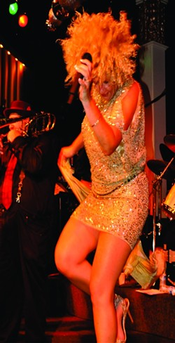BLONDE IS THE NEW BLUES :  Big brassy blues diva Kaye Bohler brings her sound to D'Anbino on Nov. 5. - PHOTO COURTESY OF KAYE BOHLER