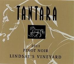 TANTARA 2011 PINOT NOIR LINDSAY'S VINEYARD :