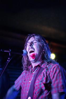 GOT DIRT?:  American Dirt front man Dave Wilson lets it rip. - PHOTOS BY GLEN STARKEY