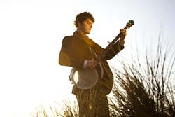 BANJO MAN :  Mark Growden tours in support of his newest album, Lose Me in the Sand, on Feb. 22 at Steynberg Gallery. - PHOTO COURTESY OF MARK GROWDEN