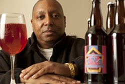 THE CANDY MAN :  Tyrone Armstrong struck upon the ingenious idea to pair beer and candy. Better still, he hopes to use this happy marriage to create a shelter for homeless teens. - PHOTO BY STEVE E. MILLER