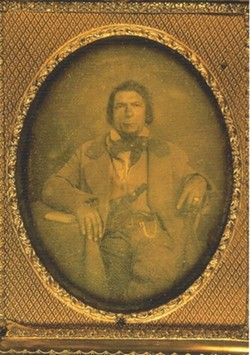 NEGLECTED, NOW REMEMBERED:  Long neglected in American frontier history, James P. Beckwourth has received a place of distinction as of late, including at the Dana Adobe, where he spent time as a courier. - PHOTO COURTESY OF THE PLUMAS COUNTRY MUSEUM