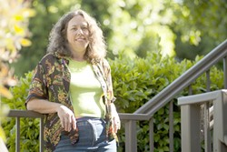LOOKING FORWARD :  California Valley's Stacey Hunt is the local organizer for the upcoming Bioneers conference. - PHOTO BY STEVE E. MILLER